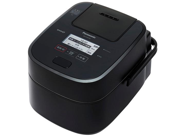 【中古美品】 Panasonic 5.5合 スチーム&可変圧力IHジャー炊飯器 SR-CVSX100ブラック
