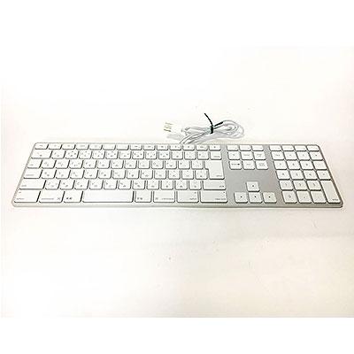 Apple 純正 Mac USB接続キーボード MB110J/A A1243 中古キーボード アップル 有線 Cランク