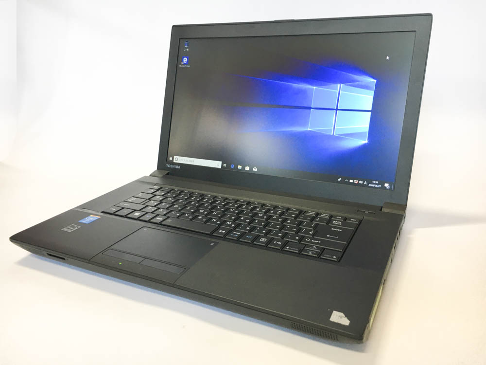 TOSHIBA dynabook Satellite B554/K Windows10 Pro 64bit Intel Core i5-4300M 2.60GHz メモリ4GB HDD320GB DVD ROM 15.6インチ 東芝 無線LANアダプタ付属 Bランク
